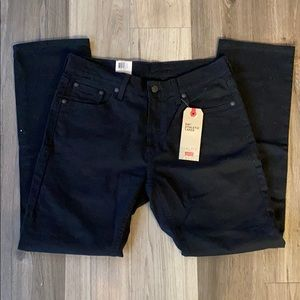 ✅ NWT LEVI'S 541 Athletic Taper Black Stretch Jean